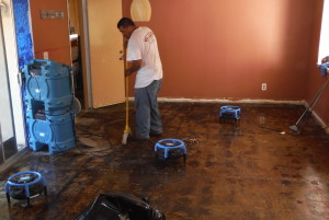 water damage Vista ca